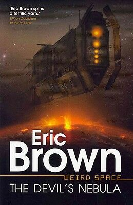 Weirdspace: The Devil's Nebula by Eric Brown Paperback Book (English)
