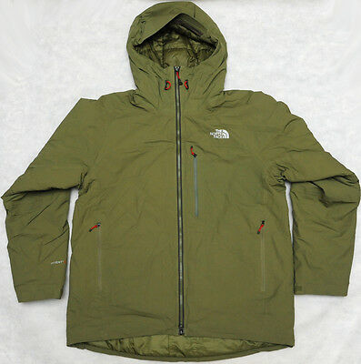 THE NORTH FACE MAKADALIS PRIMALOFT HYVENT waterproof MEN'S INSULATED JACKET - L