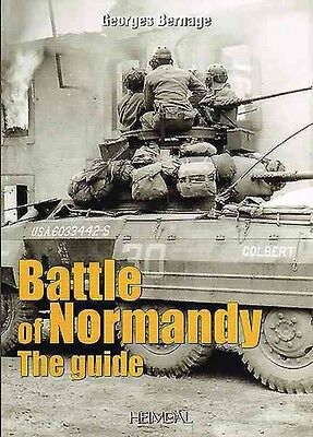 Guide to the Battle of Normandy by Georges Bernage Paperback Book (English)