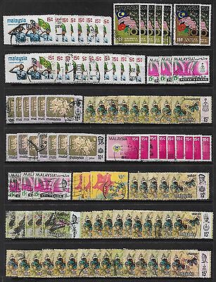 MALAYSIA States - bulk lot No.4, mixed collection x 100 +