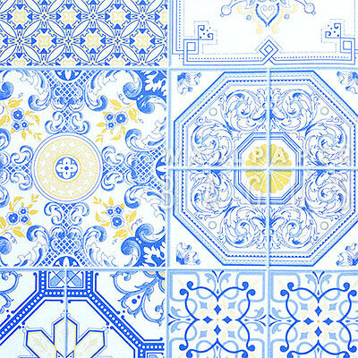 Blue And White Wallpaper Vintage Wall Paper Decoration Home Nice Pattern Peace