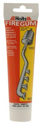 Exhaust Repair Holts Firegum Tube 150G Stops Leaks & W/Stands Heat & Vibration N
