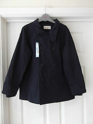 M&S Indigo Trench Coat/Mac/Jacket in Navy Blue NWT Girl's 11-12 Years RRP £30