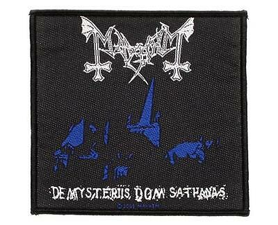 Official Licensed - Mayhem - De Mysteriis Dom Sathanas Sew On Patch Black Metal