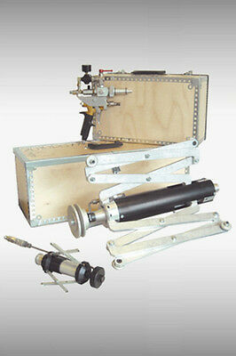 clemco Pipe Painting Tool Orbiter I 3,5 m complete set, Inner Pipe Paint airless