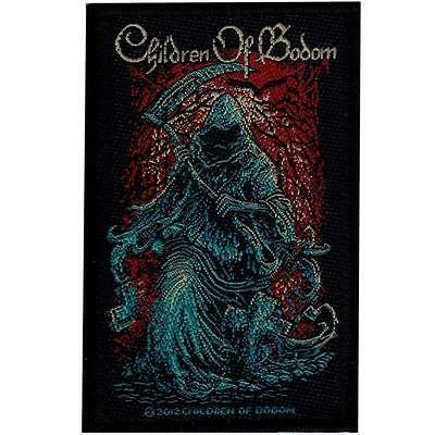 Official Licensed - Children Of Bodom - Reaper Sew On Patch Death Metal
