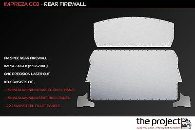 The  Project - Subaru Impreza GC8 FIA Spec Rear Firewall (1992-2000)