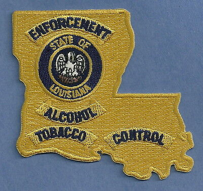Louisiana State Alcohol And Tobacco Enforcement Police Patch