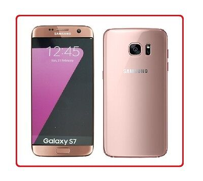 Samsung Galaxy S7 in Pink Gold Handy DUMMY Attrappe - Requisit, Präsentation