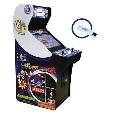 Arcade Legends 3 Cabinet with Golden Tee And Game Pack 536 Upgrade