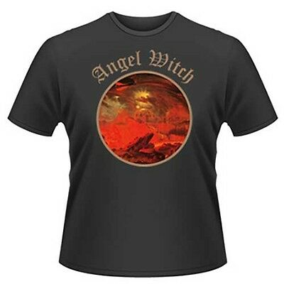 """Angel Witch """"Angel Witch Logo"""" T shirt - NEW OFFICIAL"""