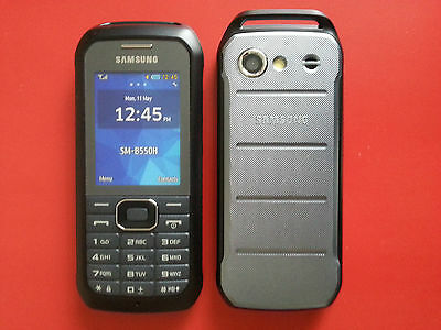 Samsung Xcover 550 in Dark Silver Handy DUMMY Attrappe - Requisit, Präsentation