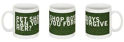 Pet Shop Boys - Can You Forgive Her? Ceramic Mug [#02] **one-Off Exclusive**
