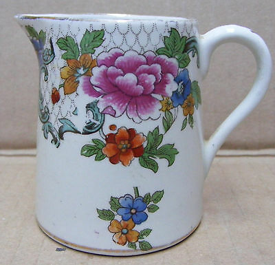 Booths 'silicon China' Jug In The Floradora Pattern