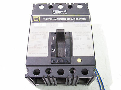 Square D Fcp34015Mt1212 Circuit Breaker 15A 240/480Vac 3Pole ***xlnt***