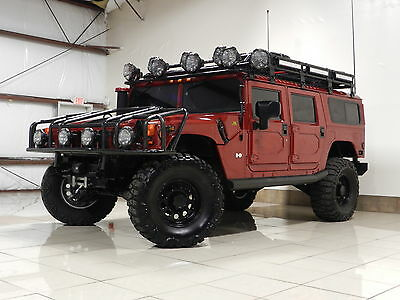 2001 Hummer H1 Base Sport Utility 4-Door RARE FULL CUSTOM LIFTED HUMMER H1 49K MILES WINCH TOW DRONE SAMSUNG TABLET