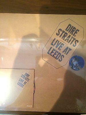 Dire Straits – Live At Leeds blue vinyl lp new and sealed