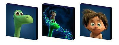 The Good Dinosaur Art Blocks/ Wall Art Plaques/pictures