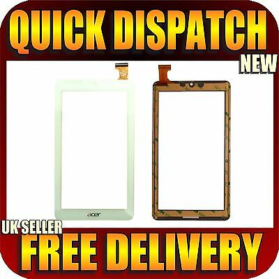 """Acer Iconia One 7 B1-770 White Tablet 7"""" New Touch Screen Glass Digitizer"""