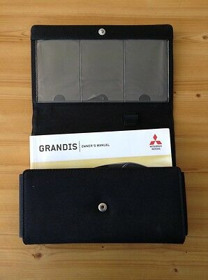 Mitsubishi Grandis 2003-2009 Car Owners Drivers Genuine Handbook Manual Wallet