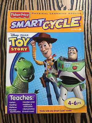 Fisher Price Smart Cycle Disney Pixar Toy Story Learning Arcade Game NIB