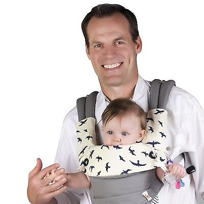 Drool & Teething Pad for Ergobaby Four Position 360 Baby Carrier 3 Piece Set