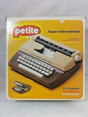 Petite Super International Typewriters by Byron Made In England