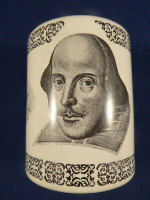 Rare Shakespeare Centenary Exhibition Pot 1964 – Holkham Lidor Pottery England