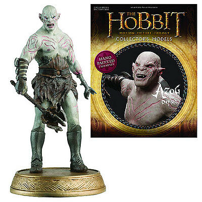 Eaglemoss * Azog * #4 Orc Figurine & Magazine Lord of the Rings Hobbit Goblin