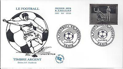 ENVELOPPE 1er JOUR - FDC - AUTOADHESIF N° 430 - TIMBRE ARGENT FOOTBALL