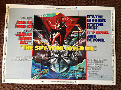 James Bond 007 -The Spy Who Loved Me - 9 Card Set - 40th Anniversity issued 20