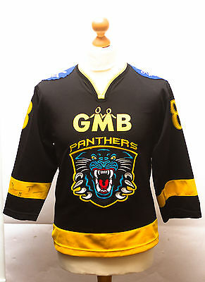 GMB Nottingham panthers jersey L/XL childs - 88 John Craighead - Signed