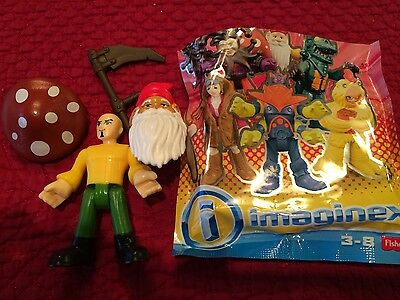 NEW Imaginext Series 6 Figure Gnome Warrior Blind Bag  Christmas Fun