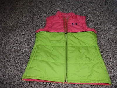 Under Armour Ymd Girls Loose Vest Jacket Coat Polyester Filled
