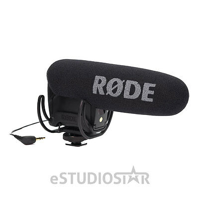 Rode VMPR VideoMicPro-R with Rycote Lyre Shockmount Video Mic Pro R for DSLR