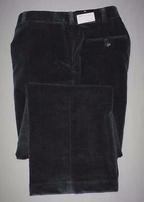 New Mens Size 38/30 Coppley Dylan Dark Grey Corduroy pants Made in Canada