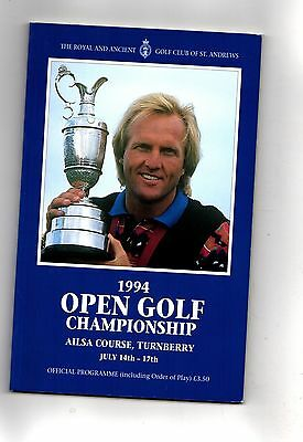 1994 Turnberry British Open Golf Championship  Official Programme POST FREE