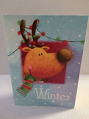 Christmast Card with envelope - 10 pieces - new