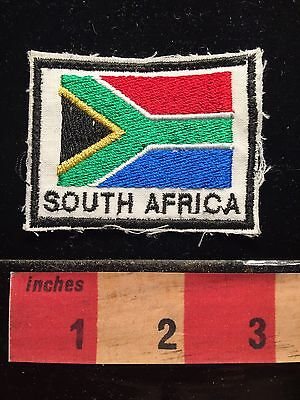 Flag Themed SOUTH AFRICA Patch 67E1
