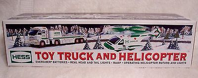 2006 Hess Toy Truck & Helicopter MIB With Bag
