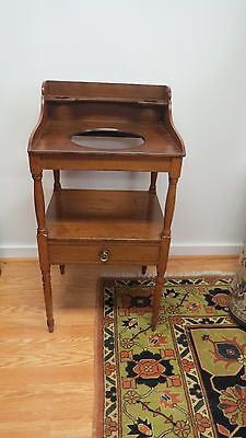Antique Cherry Sheraton Wash stand