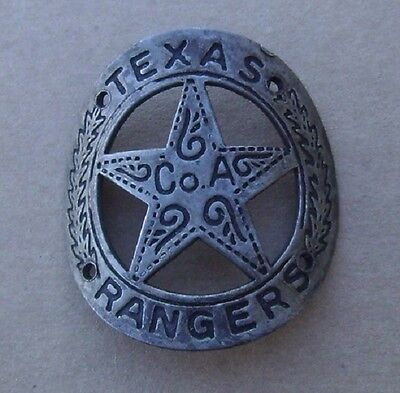Texas Ranger CoA Pistol / Rifle Brass Gun Butt Tag