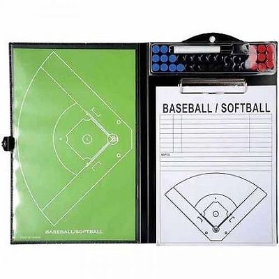 Franklin MLB Multi-Function Coach's Clipboard for baseball and softball