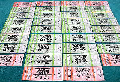 34 Unused Statler Bros. Tammy Wynette Ronnie Milsap Concert Ticket Apr 24th 1977