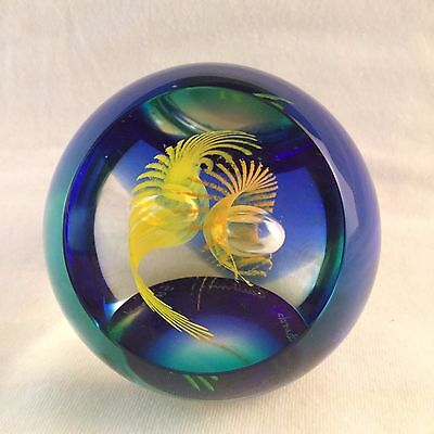 """Caithness Paperweight """"Fire Birds"""" Limited Edition #214 of 500"""