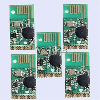 5PCS 24YK-TX 6Bit Non-lock Wireless Switch Module 2.4G Remote Transmitter MO