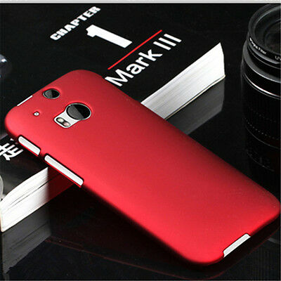 Ultrathin Frosted Matte Grossy Hard Plastic Back Phone Case Cover For HTC One M8