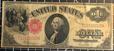 Large 1917 $1 Dollar Bill United States Legal Tender Note Paper Money Gift Idea