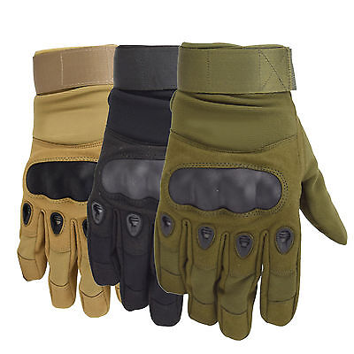 Full Finger Gloves For Motorcycle Bike Military Tactical Cycling Riding Hunting