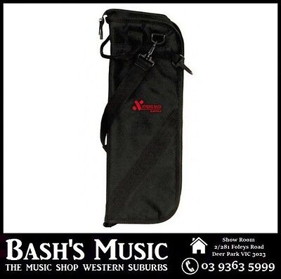 Xtreme CTB15 Padded Drumstick Bag Brand New Drum Stick Bag Black